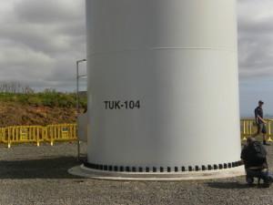 Turbine on Platform